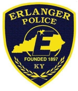 Erlanger Police shield, founded in 1897