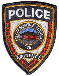 eminence police patch