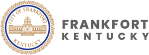 """City of Frankfort Kentucky seal, """"Frankfort Kentucky"""""""